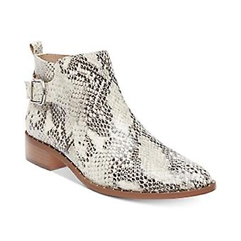 Steven by Steve Madden Womens Chavi Leather Almond Toe Ankle Fashion Boots