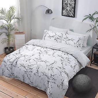 Marble Grey Bedding Set