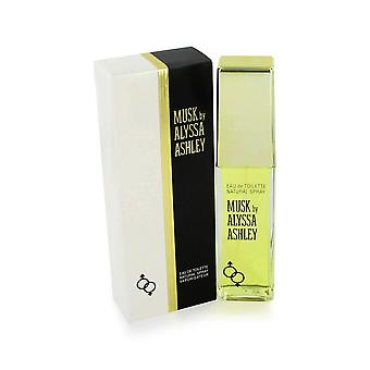 Musc d'alyssa ashley 1.7 oz eau de toilette vaporisateur