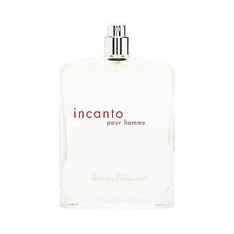Incanto Pour Homme av Salvatore Ferragamo 3,4 oz Eau de Toilette Spray (testare ingen mössa)