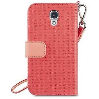 Belkin Sartorial Wristlet Cover Case for Galaxy S4 Pink