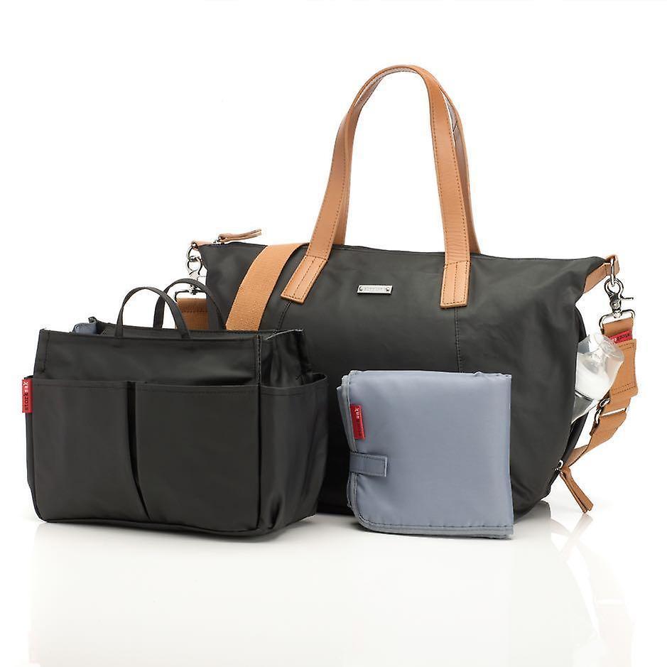 Storksak - diaper bag - noa - black