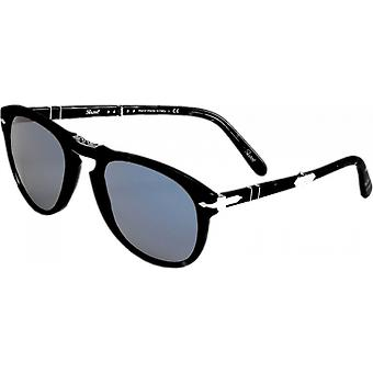 Persol 0714 Steve McQueen Black Polarized Blue