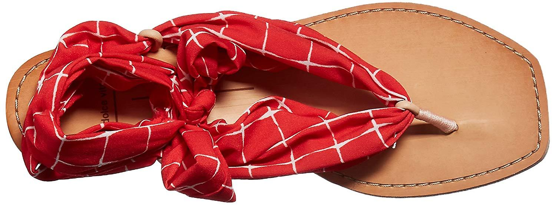 Dolce Vita kvinners henlee åpen tå Casual Skyv sandaler