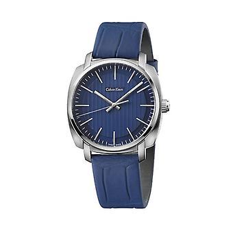 Calvin klein men's watch blue k5m311vn