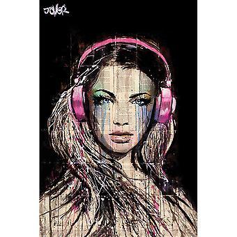Loui Jover, Maxi Poster - DJ Girl