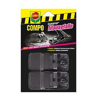 COMPO Cumarax® Mousetrap, 2 pieces