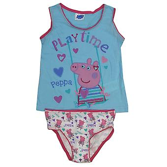 Peppa pig girls underwear set cotton