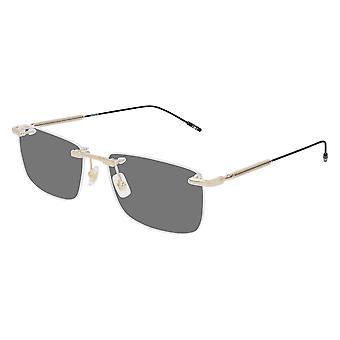 Montblanc MB0049O 005 Gold Glasses