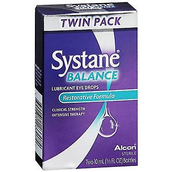 Systane equilíbrio lubrificante colírio, fórmula restauradora, 0,67 oz