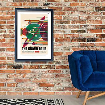 The Grand Tour NASA Space Tourism Poster Print Giclee