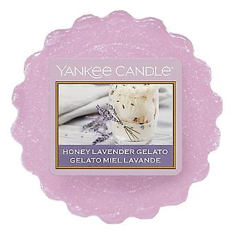 Yankee Candle Wax Melt Honey Lavender Gelato