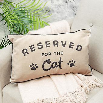 Sass & Belle Reserved For The Cat Cushion, New Design