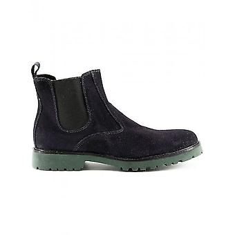 Made in Italia - Schuhe - Stiefeletten - FILIPPO_BLU - Herren - darkblue - 45