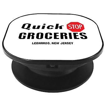 Quick Stop Groceries Leonardo NJ Clerks Phone Grip
