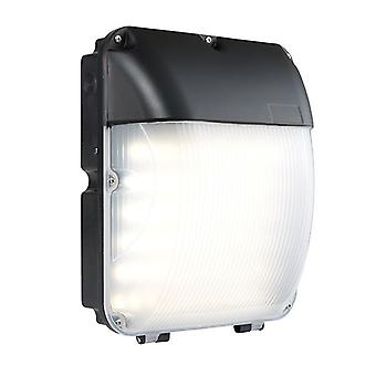 Saxby Iluminación Lucca Integrado LED 1 Luz De pared al aire libre Luz Matt Negro, Opal IP44 67176