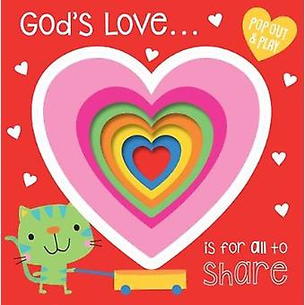 God's Love is For All to Share - 9781788930444 Book