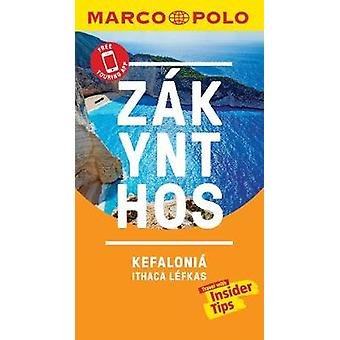 Zakynthos and Kefalonia Marco Polo Pocket Travel Guide - with pull ou