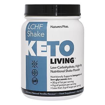 Nature's Plus KetoLiving Vanilla Keto Shake 578g (82006)