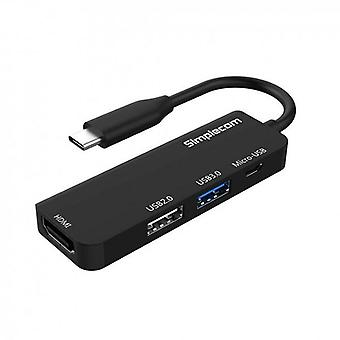 Simplecom DA305 USB3.1 TypeC to HDMI 4in1 Combo Hub
