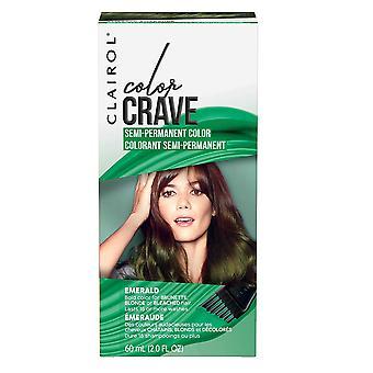 Clairol Color Crave Semi Permanent Hair Colour 15+ Washes 60ml Emerald