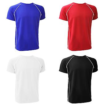 Finden & Hales Mens Coolplus Performance Sports T-Shirt