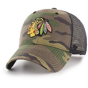 47 Brand Snapback Cap - BRANSON Chicago Blackhawks camo