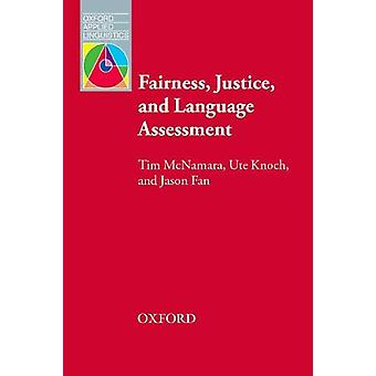 Fairness - Justice and Language Assessment by Tim McNamara - 97801940