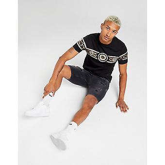 New Supply & Demand Men's Bark Denim Shorts Black