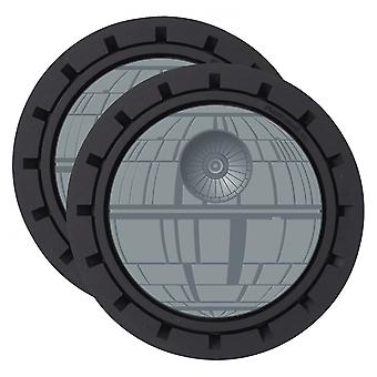 Star Wars Death Star Auto Car Coaster 2-Pack