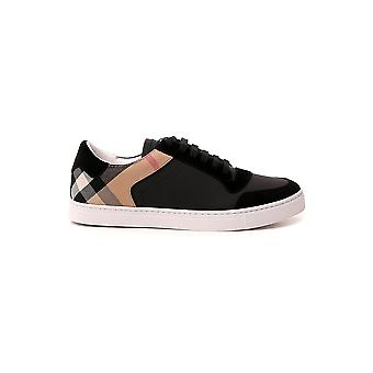 Burberry 8024124a1189 Uomini's Sneakers in pelle nera
