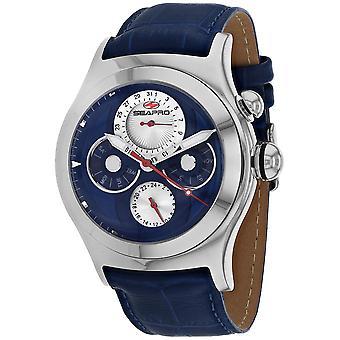Seapro Men's Chronoscope Blue Dial Watch - SP0132