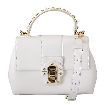 Biała skóra lucia ręka ramię borse torebka torba