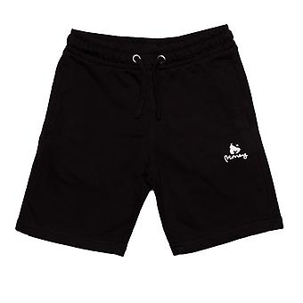 Boy's Money Junior Black Label Shorts em preto