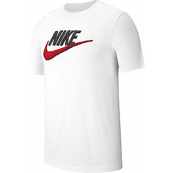 Men�s Short Sleeve T-Shirt Nike AR4993 100 White/2XL