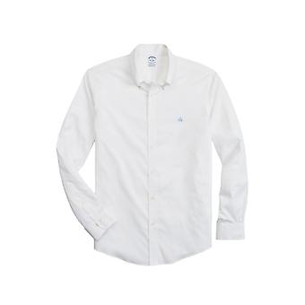 Brooks Brothers Men-apos;s Stretch Sport Shirt Regent Fit