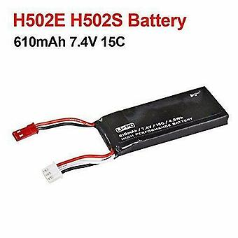 1 Piece 7.4V 610mAh 15C Replacement Lipo Battery Pack for Hubsan H502S H502E RC
