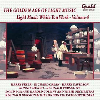 Light Music While You Work - The Golden Age of Light Music: Light Music While You Work, Vol. 4 [CD] USA import