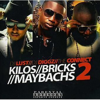 Rick Ross - Kilos Bricks Maybachs 2 [CD] USA import