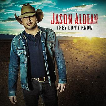 Jason Aldean - They Don't Know [CD] USA import