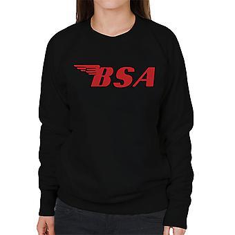 BSA Red Logo Women's Sweatshirt