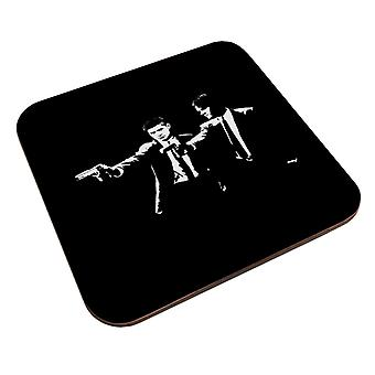Pulp Fiction Supernatural Sam And Dean Winchester Coaster