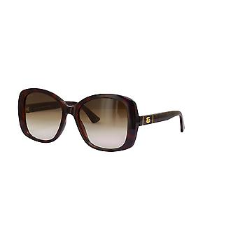 Gucci GG0762S 002 Havana/Brown Gradient Sunglasses