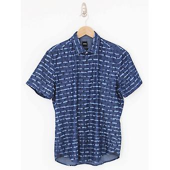BOSS Casual Rash Shirt - Dark Blue