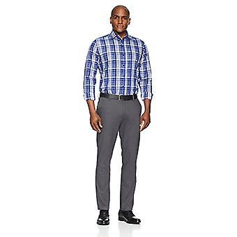Abotoado men's Slim Fit Supima Cotton Spread-Collar Dress Casual Shirt, ...