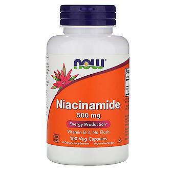 Ora Alimenti, Niacinamide, 500 mg, 100 Veg Capsule
