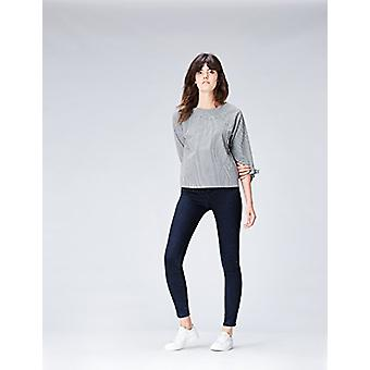 Vinden. Women's Skinny Mid Rise Stretch Jeans, Blue (Deep Indigo), W34 x L32
