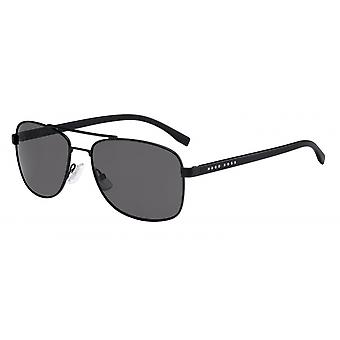 Sunglasses Men's 0762/S10G/No Men's Black/Smoke