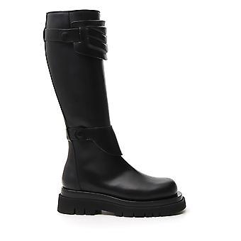 Bottega Veneta 592044vifh01000 Dames's Black Leather Boots