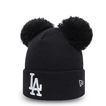 כובע החורף של הנשים עידן חדש כפול בובל-לה דודג'רס